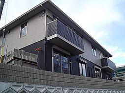 京都府宇治市宇治善法の賃貸アパートの外観