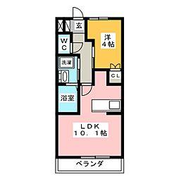 maison de chou−chou[2階]の間取り