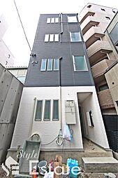 愛知県名古屋市中区新栄2丁目の賃貸アパートの外観