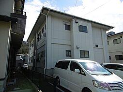 大沢ハイツA[1階]の外観