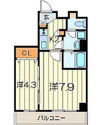 ラ・ベラヴィータ横浜大通り公園[8階]の間取り