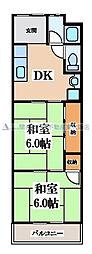 中川マンション[3階]の間取り