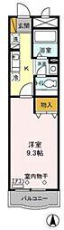 千葉県我孫子市天王台1丁目の賃貸マンションの間取り