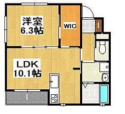 OCTO Casa Omachi I[1階]の間取り