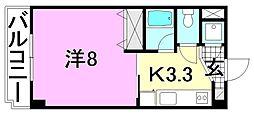 M・シャトー[213 号室号室]の間取り