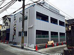 兵庫県尼崎市大庄西町1丁目の賃貸アパートの外観