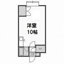 エトワール東札幌[4階]の間取り