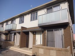 岡山県倉敷市北畝7丁目の賃貸アパートの外観