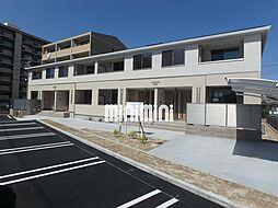愛知県名古屋市港区当知3の賃貸アパートの外観