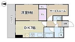 will Do 大塚[405号室]の間取り