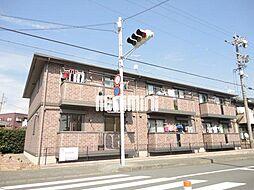 静岡県静岡市葵区沓谷6丁目の賃貸アパートの外観