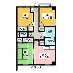 光曜圓[3階]の間取り