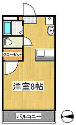 のばらビル[5階]の間取り