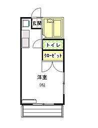 Y・K HOUSE[101/103号室]の間取り