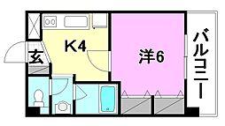 ACTIF[103 号室号室]の間取り