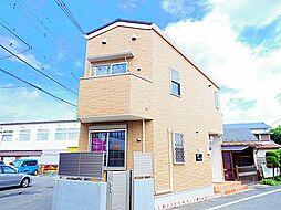 東京都小平市小川西町4丁目の賃貸アパートの外観