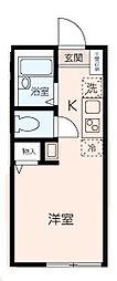 KANAZAWA FLOORS[103号室]の間取り
