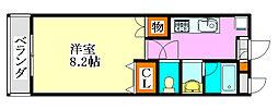 LEO弐拾弐番館[302号室]の間取り