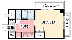 マンション23[203号室]の間取り