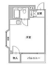 JPアパートメント寝屋川II[2階]の間取り