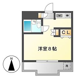 グレイス桜[2階]の間取り