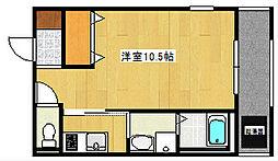WHITE BUILD[2階]の間取り
