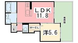 仮)佐土賃貸アパート[101号室]の間取り