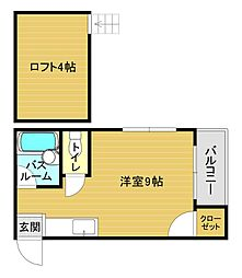 唐の原駅 1.8万円