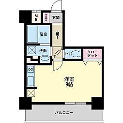 パシフィックレジデンス神戸八幡通[0606号室]の間取り