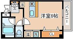 兵庫県神戸市中央区国香通4丁目の賃貸マンションの間取り