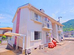 広島県広島市安芸区中野5丁目の賃貸アパートの外観
