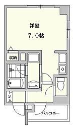 サン福田ビル[3階]の間取り