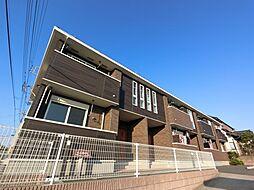 千葉県八街市榎戸の賃貸アパートの外観