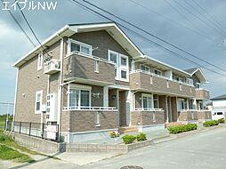 三重県松阪市豊原町の賃貸アパートの外観