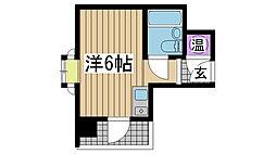 春日野道駅 2.6万円