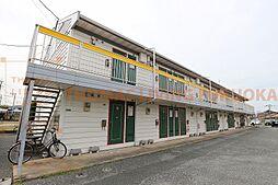 福岡県福津市西福間1丁目の賃貸アパートの外観