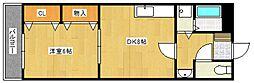 オークヒルズ[3階]の間取り