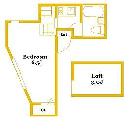 サンファースト白楽 C棟[1階]の間取り
