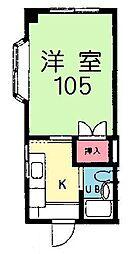 神奈川県伊勢原市桜台4丁目の賃貸マンションの間取り
