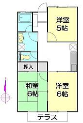 アトムハウス[1階]の間取り