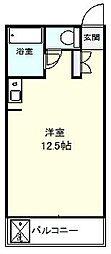 千葉県船橋市北本町2丁目の賃貸マンションの間取り