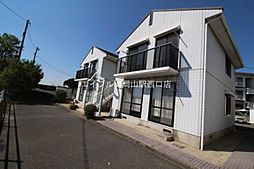 岡山県岡山市南区芳泉1丁目の賃貸アパートの外観
