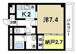 ドルフIII[3階]の間取り