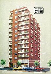 シルバーマンション新宿[11階]の外観