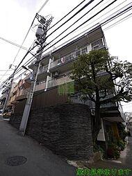東京都新宿区須賀町の賃貸マンションの外観