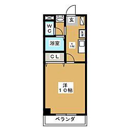 ハイブリッジマンション[2階]の間取り