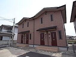兵庫県姫路市勝原区大谷の賃貸アパートの外観