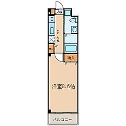 セフィール瑞江[2階]の間取り