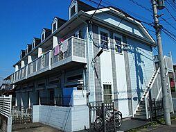 栃木県宇都宮市東浦町の賃貸アパートの外観
