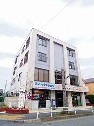 東京都東大和市中央3丁目の賃貸マンションの外観